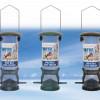 23cm  Wild Bird Zone Metal feeders