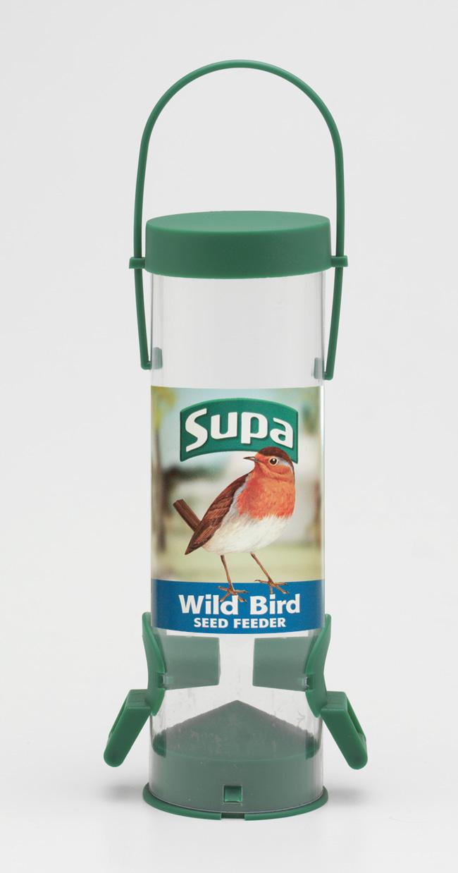 Wild Bird Seed Feeders